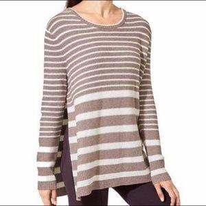 Athleta Stripe Kennewick Sweater
